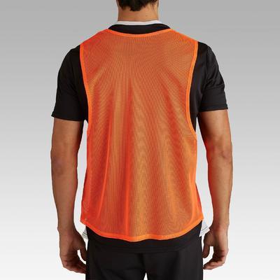 Sports Bib Adult - Neon Orange