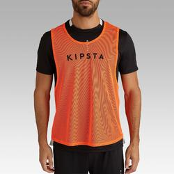 Chasuble adulte orange fluo