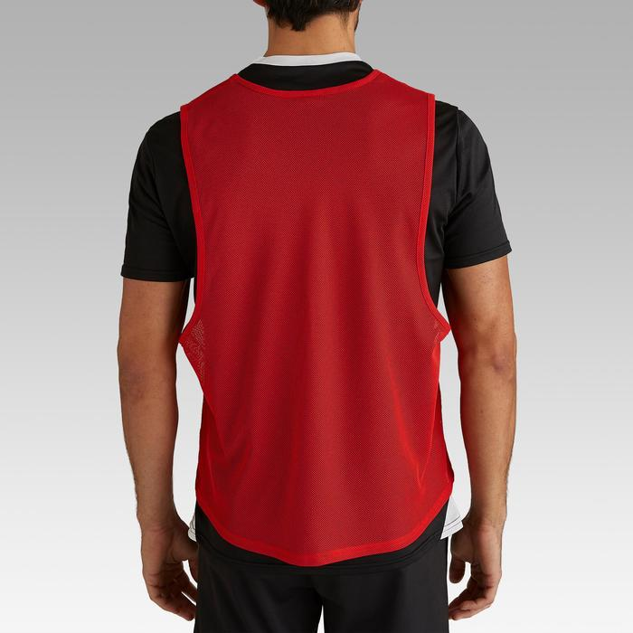 Chasuble adulte rouge