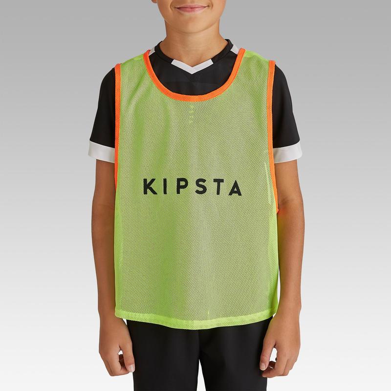Sports Training Bib Kids' - Neon Yellow