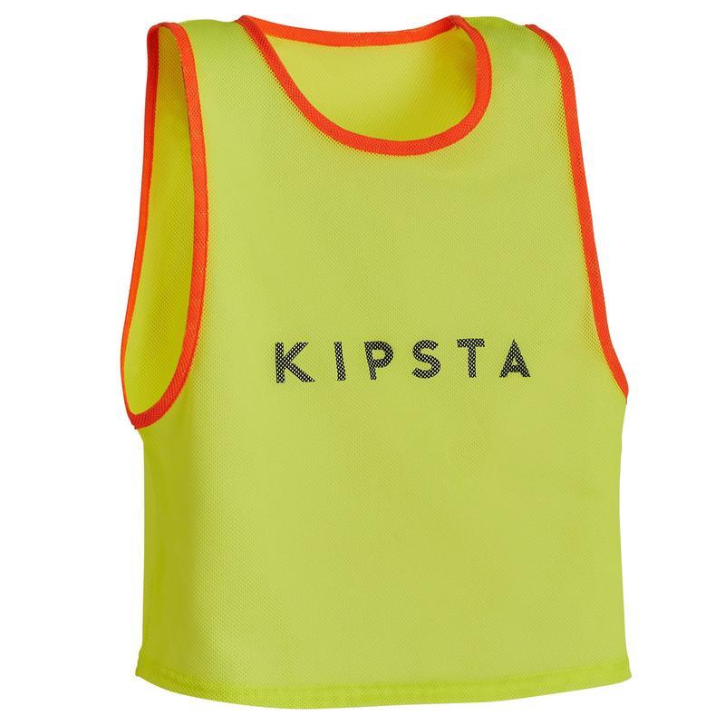 Kids' Team Sports Bib - Neon Yellow