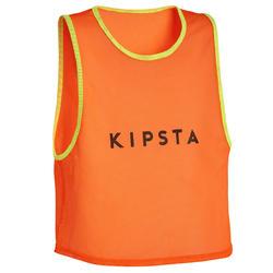 Peto Fútbol Kipsta niños naranja fluo