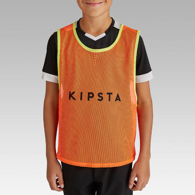 Kids' Sports Bib - Neon Orange