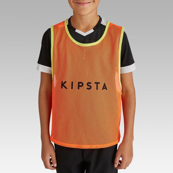 Trainingsleibchen Kinder neonorange