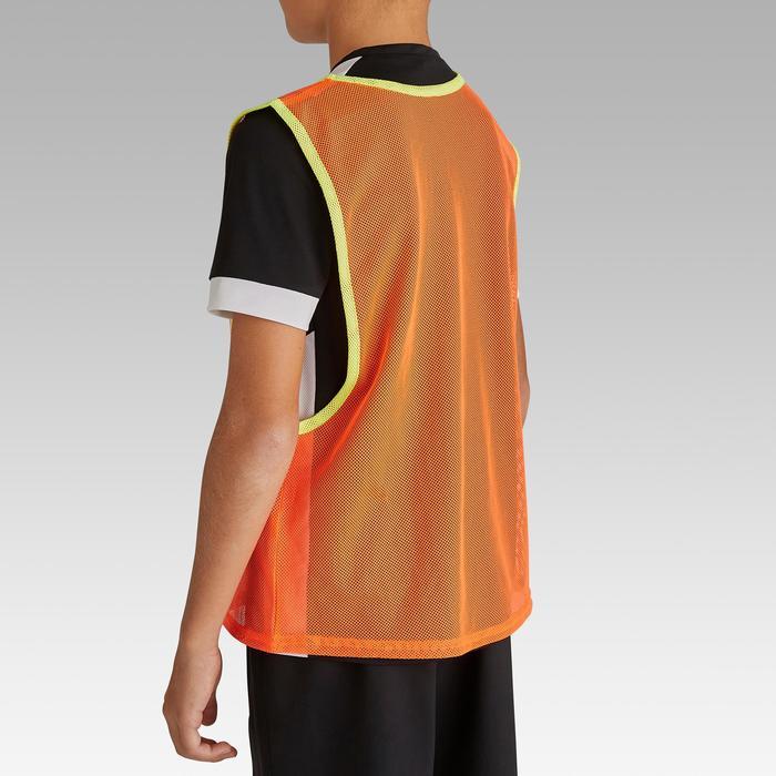 Colete de Desportos Coletivos Criança Laranja Fluorescente