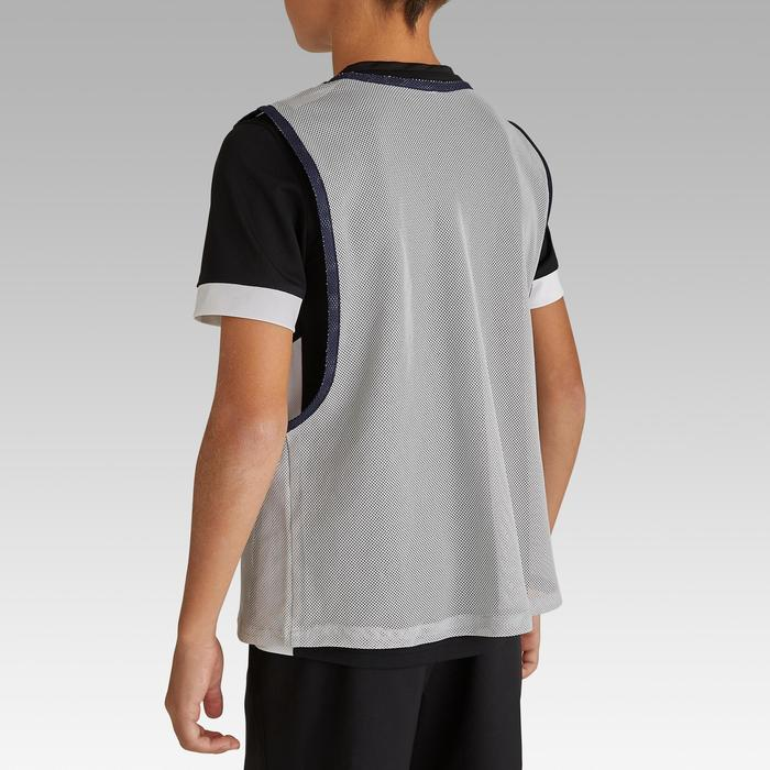 Chasubles sports collectifs enfant gris