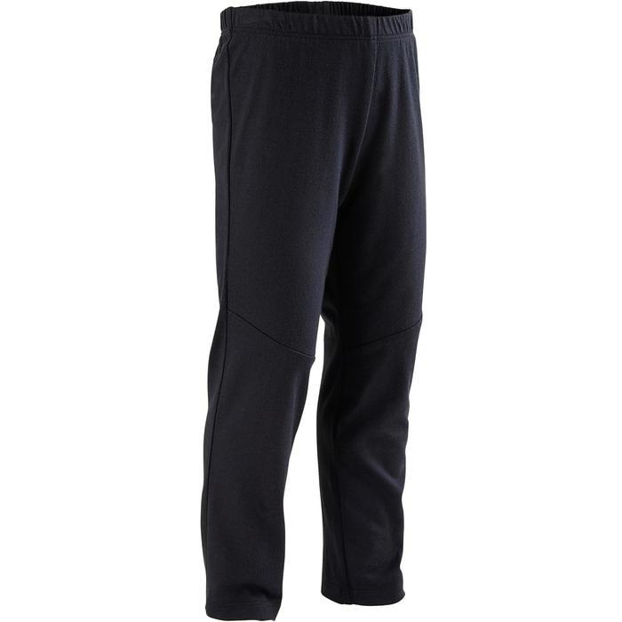 Joggingpak kleutergym Warm'y Zip 100 grijs