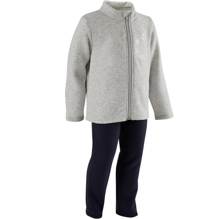 Survêtement Warm'y Zip baby gym 100 Gris