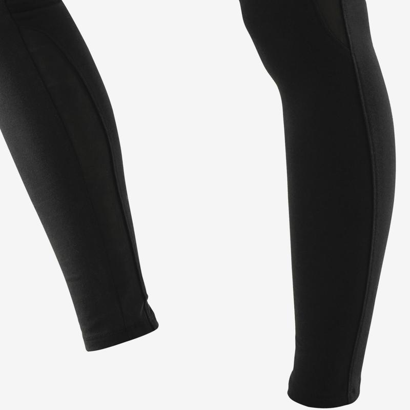 Leggings 520 Pilates y Gimnasia suave mujer negro  3f709bf7a7fb