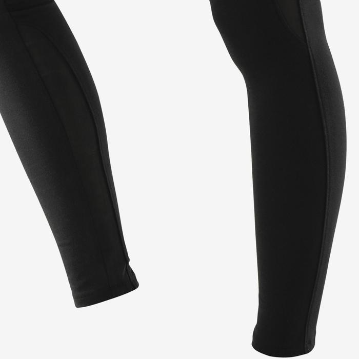 Leggings 520 Slim Pilates sanfte Gymnastik Damen schwarz