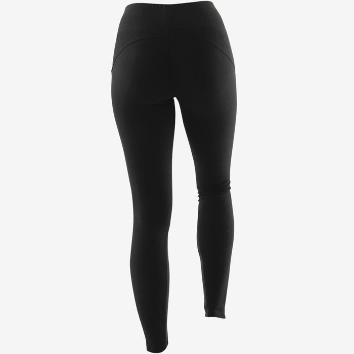 Legging 520 pilates en lichte gym dames zwart