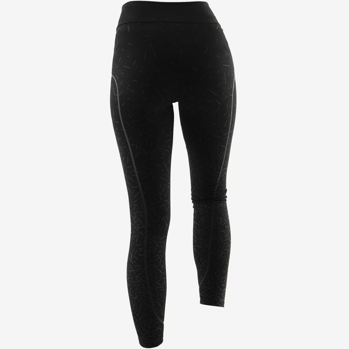 Legging 560 slim Pilates Gym douce femme noir print gris