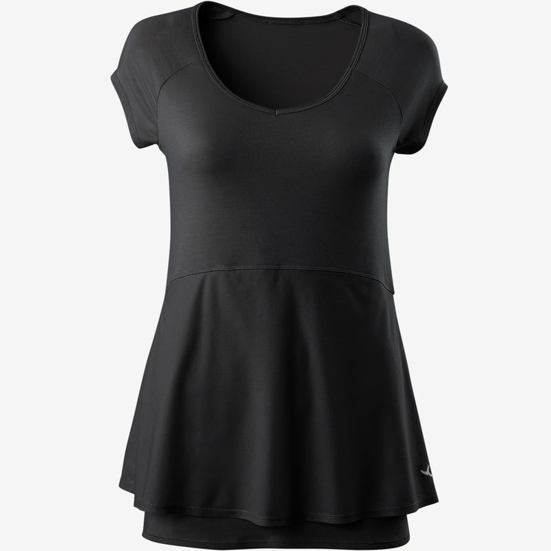 Women T-Shirt 530 Pilates & Gentle Gym - Black