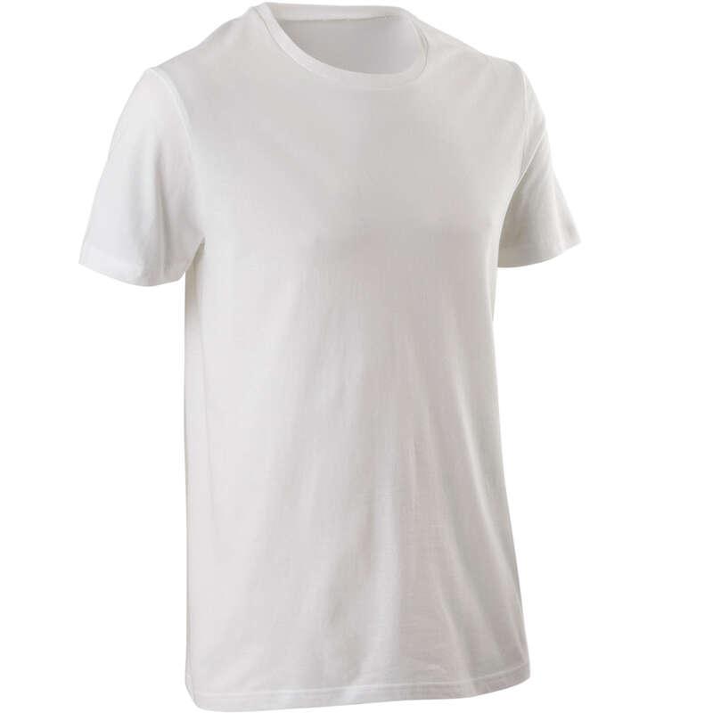 MAN GYM, PILATES APPAREL - Sportee 100% Cotton T-shirt - White