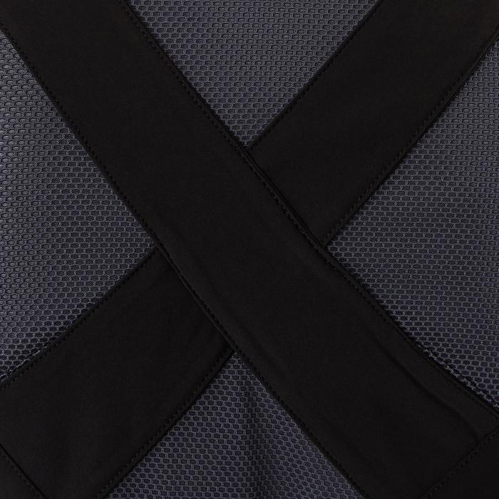 Licht ademend vest S900 meisjes GYM KINDEREN zwart AOP