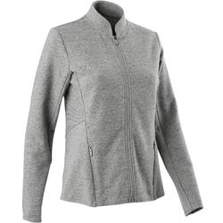 Trainingsjacke Free Move Gym & Pilates Damen grau