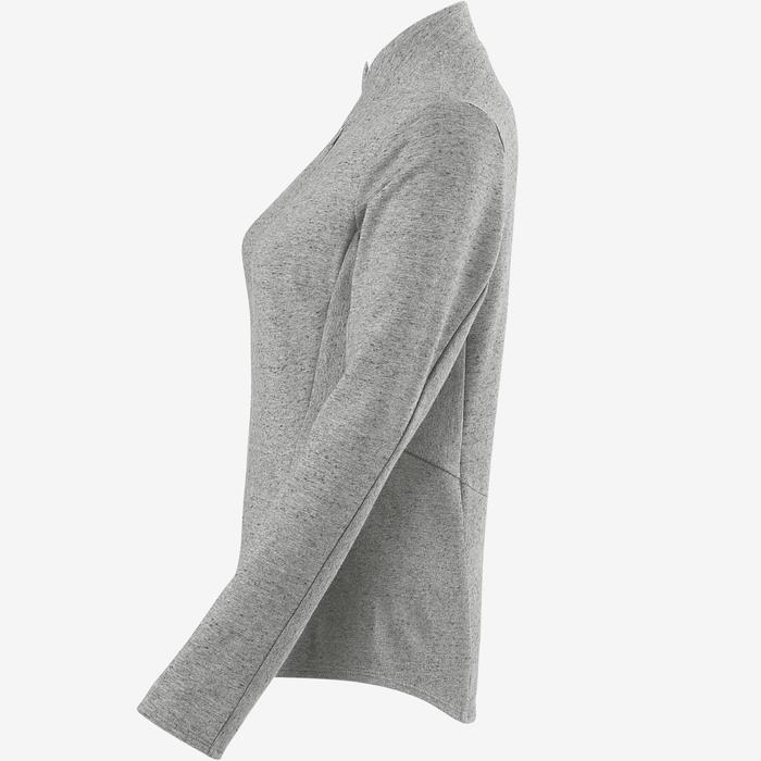 Veste Free Move Pilates Gym douce femme gris