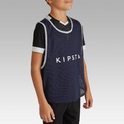 Chasuble sports collectifs enfant bleu