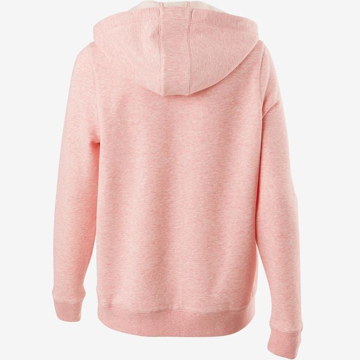 Veste 520 capuche Pilates Gym douce femme rose