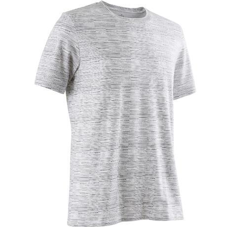 27655beb9 Koszulka krótki rękaw Gym & Pilates regular 500 męska | Domyos by Decathlon