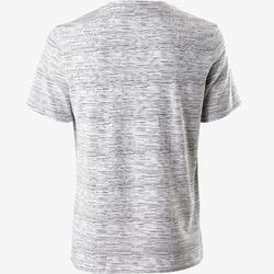 T-Shirt 500 Regular Gym & Pilates Herren weiß