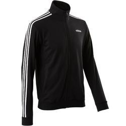 Chaqueta Adidas 100 Pilates y Gimnasia suave negro hombre