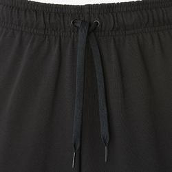 Herenbroek Adidas Linear 100 voor pilates en lichte gym zwart