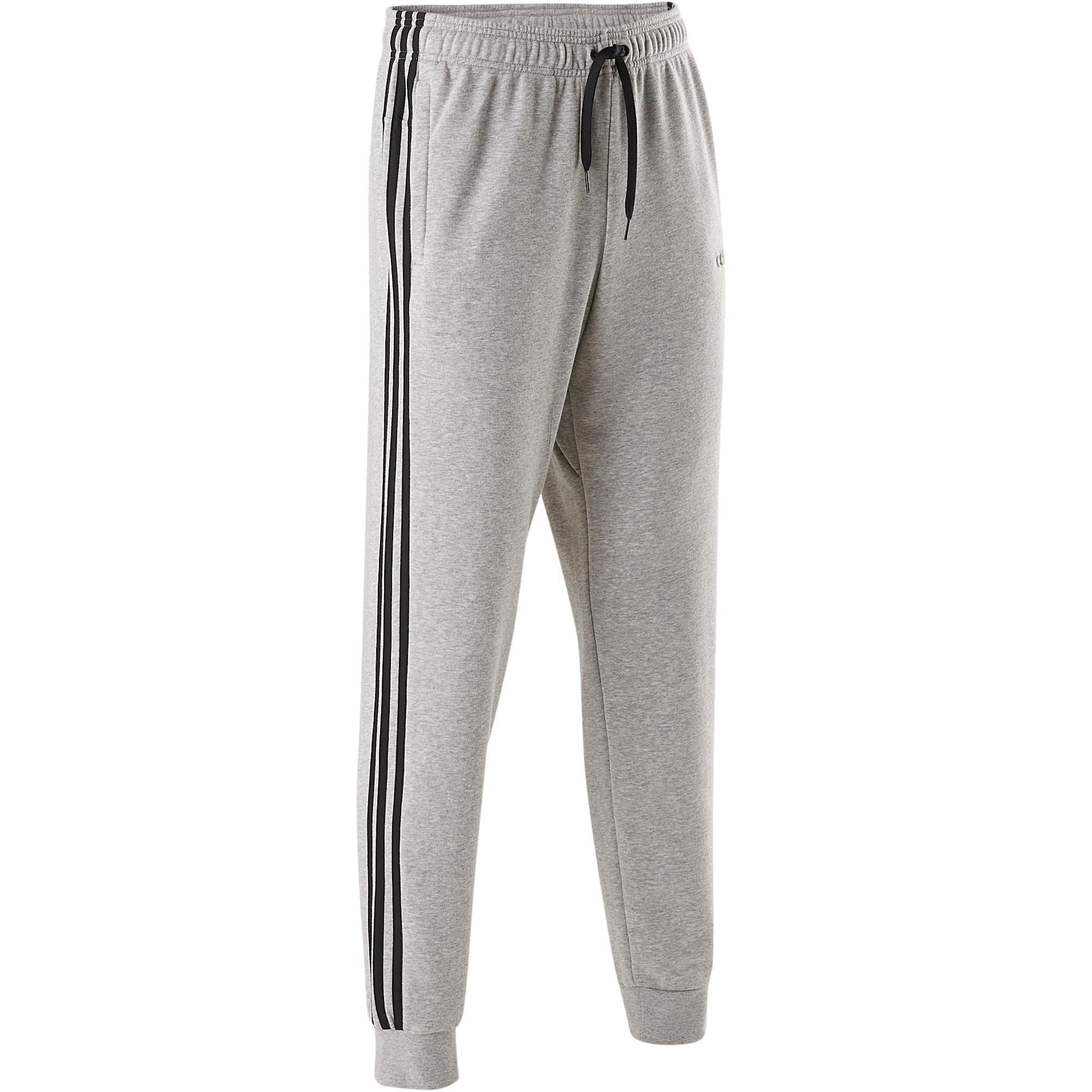suave Pantalón hombre 3S Gimnasia y Adidas gris Pilates w7Hq7U6 63cc540799d6