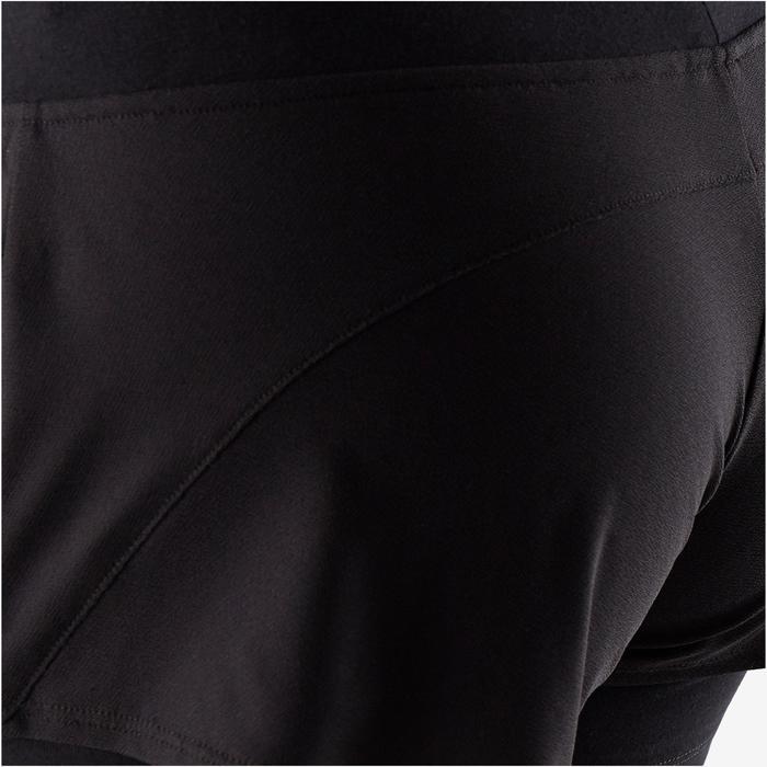 Sporthose kurz 520 Gym & Pilates Damen schwarz