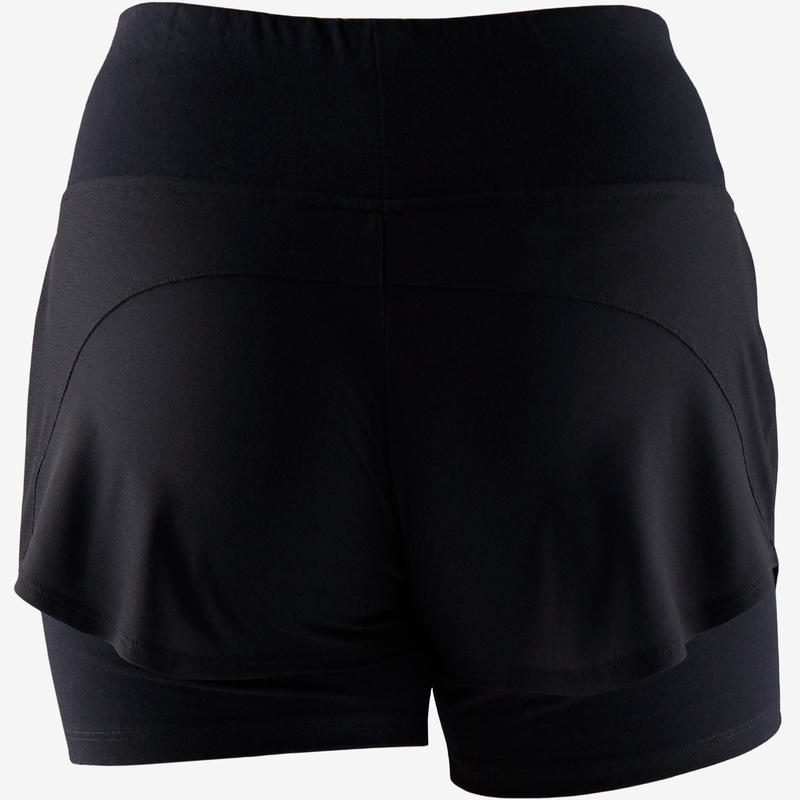 Short 520 Pilates y Gimnasia suave mujer negro