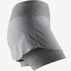 Short 520 Pilates Gym douce femme gris