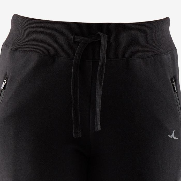 Pantalon 510 slim rib Pilates Gym douce femme noir