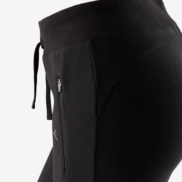Pantalón 510 de Pilates y Gimnasia suave mujer negro