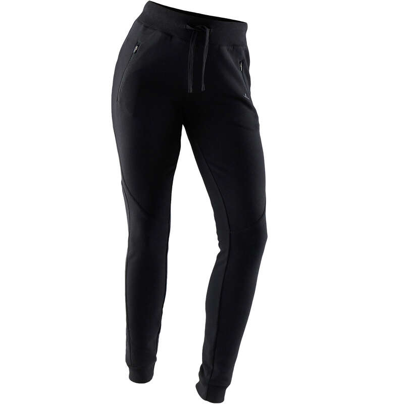 WOMAN PANT JACKET SWEAT Pilates - Women's Slim Gym Bottoms 510 NYAMBA - Pilates Clothes
