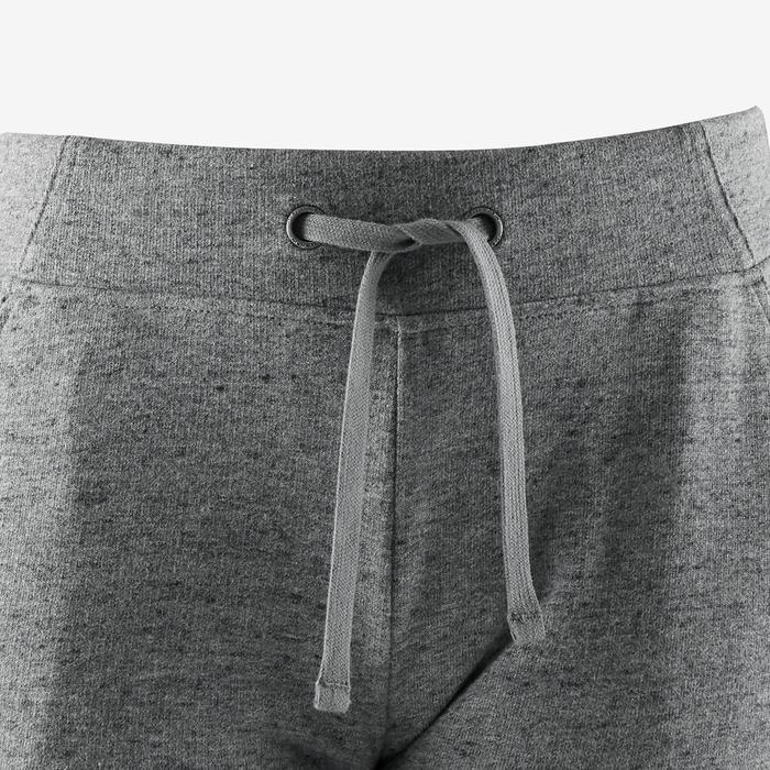 Women's Slim Jogging Bottoms 500 - Grey