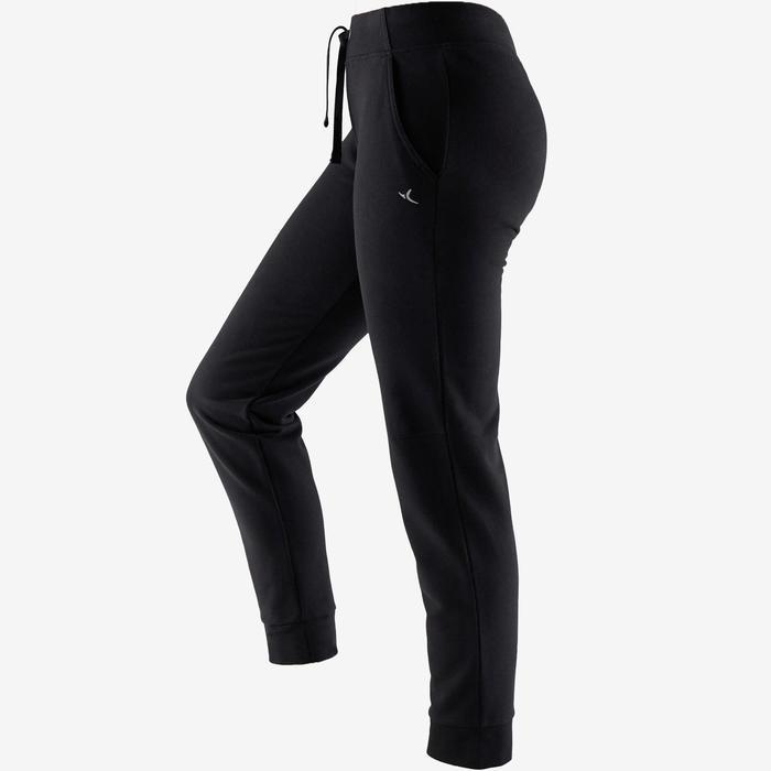 Pantalon jogging femme 500 noir