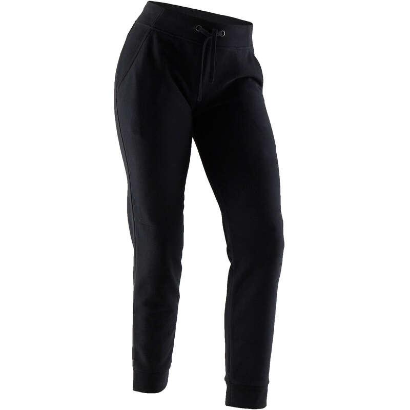 WOMAN PANT JACKET SWEAT Pilates - 500 Regular-Fit Gym Bottoms NYAMBA - Pilates Clothes