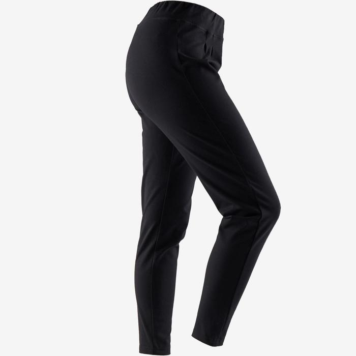Pantalon 100 Pilates Gym douce femme noir