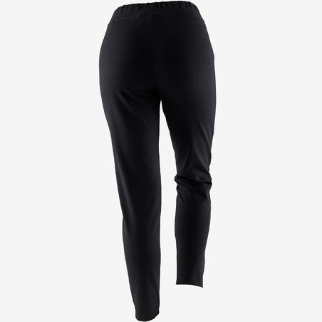 Lightweight Carrot-Fit Fitness Jogging Bottoms - Black