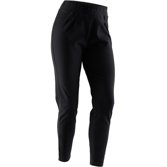 Pantalon jogging femme 100 noir