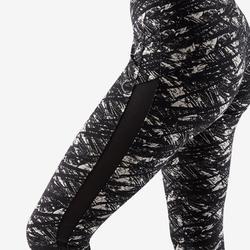 Leggings 520 Gym & Pilates Damen schwarz/beige
