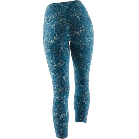 Legging 7 8 520 Pilates Gym douce femme turquoise imprimé. Previous. Next 5c000b59619