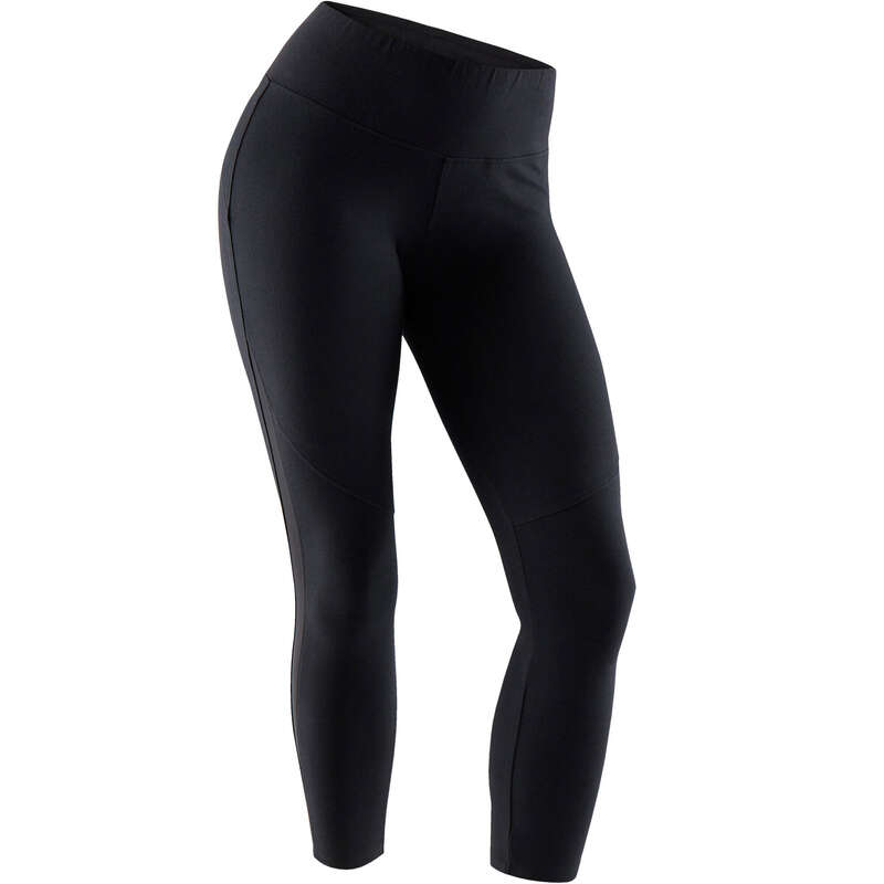 WOMAN T SHIRT LEGGING SHORT - 520 Gym 7/8 Leggings - Black NYAMBA