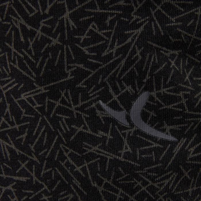 Camiseta sin Mangas Gimnasia Pilates Domyos 560 Mujer Negro Estampado b57015588616
