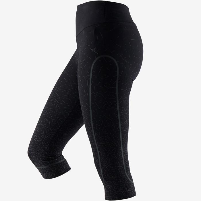 3/4-Hose 560 Slim Pilates sanfte Gymnastik Damen kupferfarben