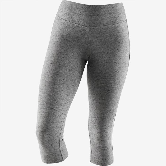 Corsaire 520 slim Pilates Gym douce femme gris chiné