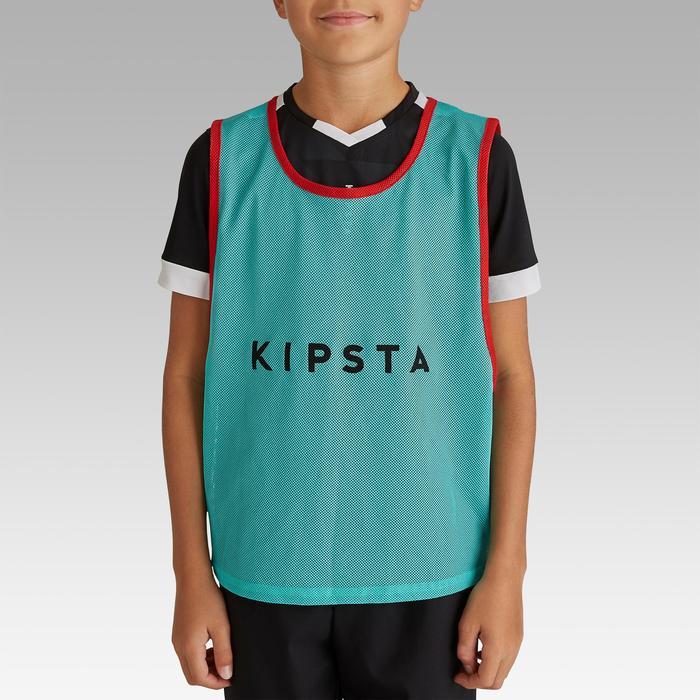 Colete de Desportos Coletivos Criança Azul-turquesa