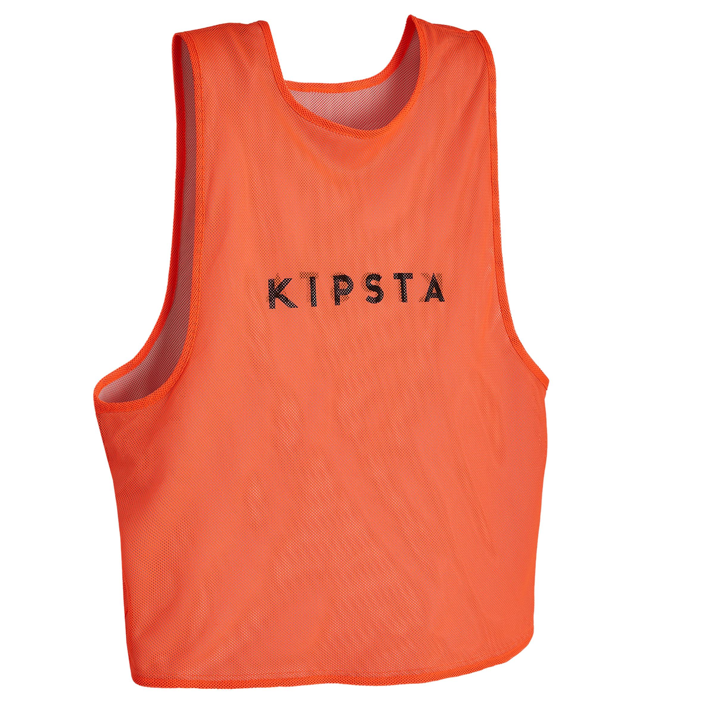 Damen,Herren Trainingsleibchen wendbar Erwachsene orange grau | 03583788037453