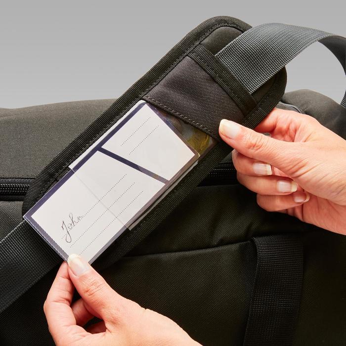 Sporttasche Hardcase 45 Liter schwarz