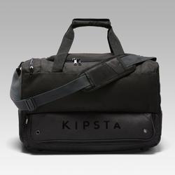 Voetbaltas / Sporttas Hardcase 45 liter zwart